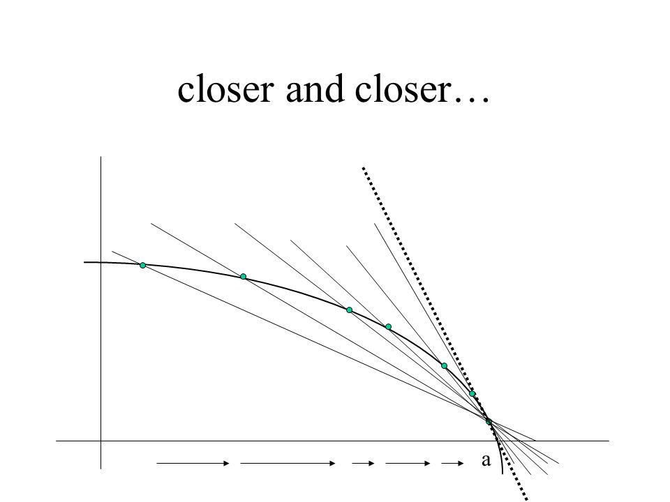 closer and closer… a