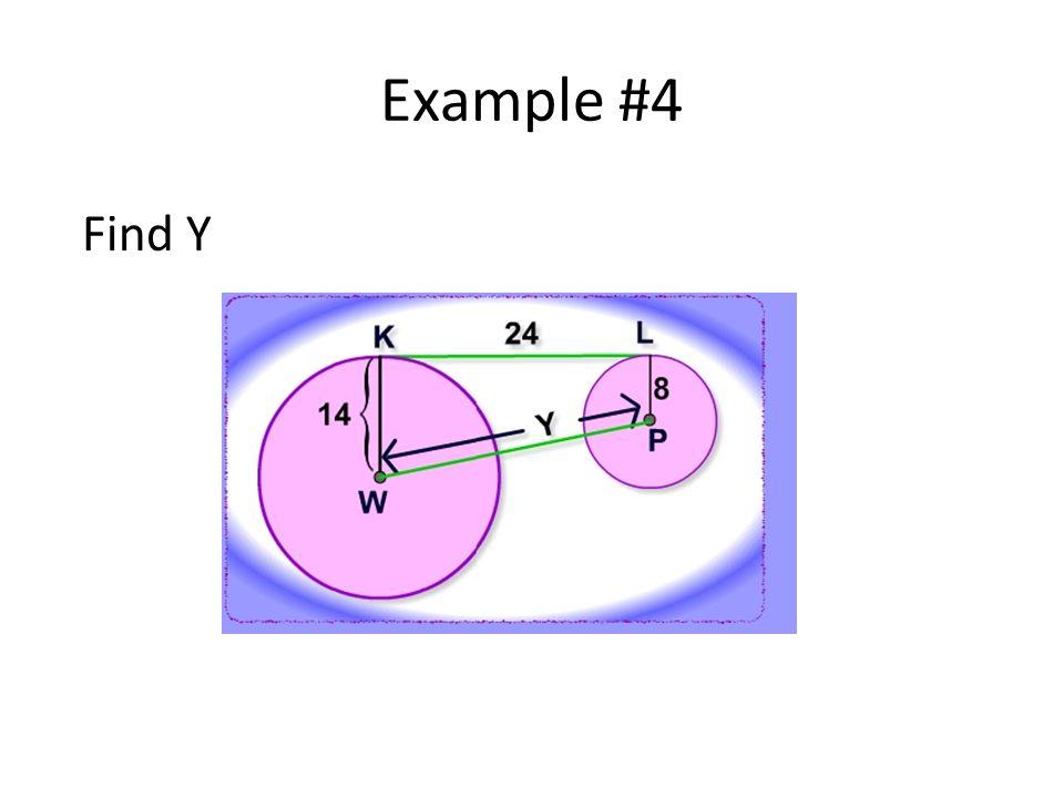 Example #4 Find Y