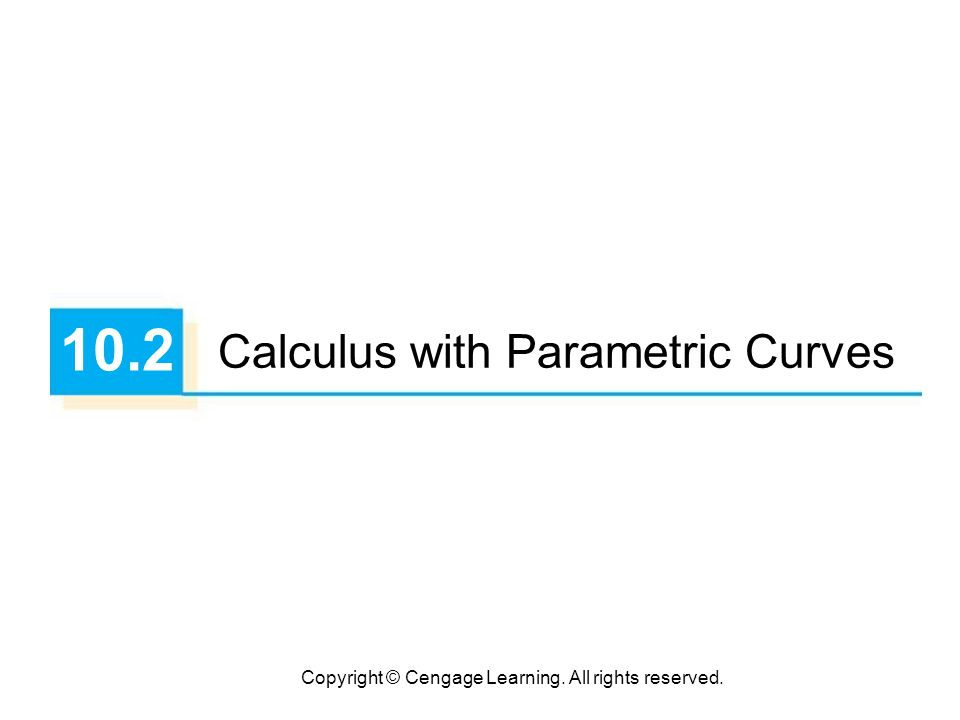 33 Surface Area If the curve given by the parametric equations x = f (t), y = g (t),   t  , is rotated about the x-axis, where f, g are continuous and g (t)  0, then the area of the resulting surface is given by The general symbolic formulas S =  2  y ds and S =  2  x ds are still valid, but for parametric curves we use