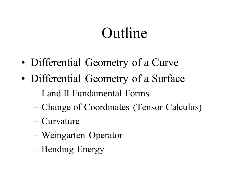 Differential Geometry of a Surface S(u,v) N p SuSu SvSv T Normal section