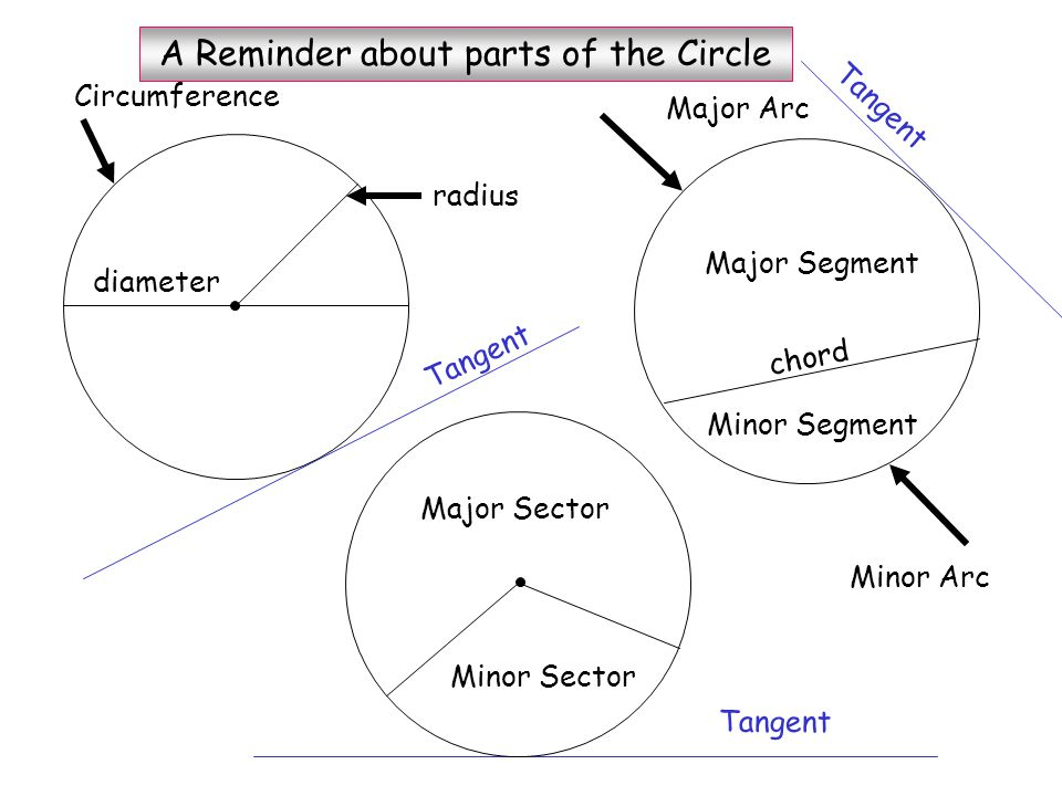 Circle Theorems Euclid of Alexandria Circa 325 - 265 BC O The library of Alexandria was the foremost seat of learning in the world and functioned like a university.