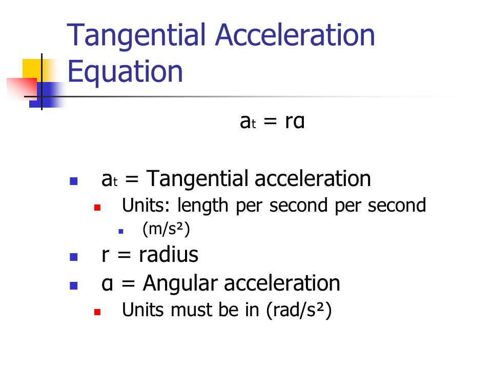 What Is The Equation To Find Acceleration - Jennarocca