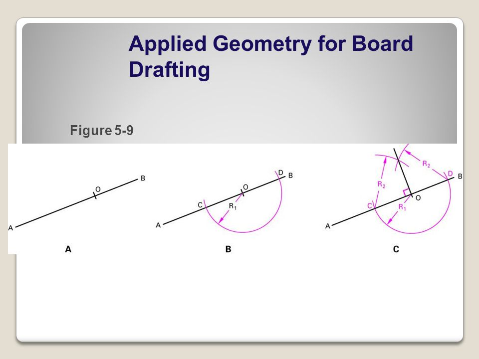Applied Geometry for Board Drafting Figure 5-9
