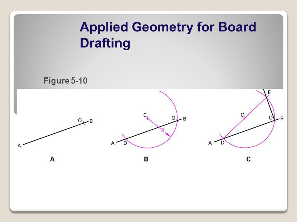 Applied Geometry for Board Drafting Figure 5-10