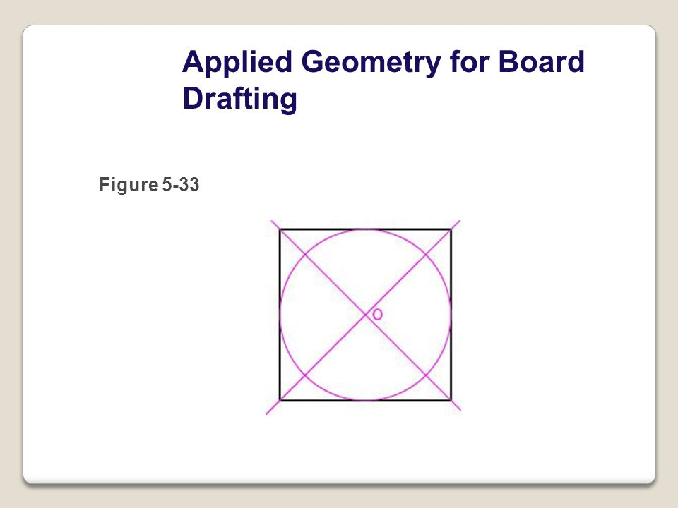 Applied Geometry for Board Drafting Figure 5-33