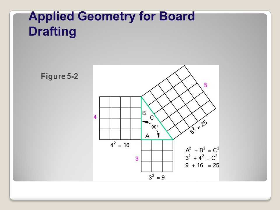 Applied Geometry for Board Drafting Figure 5-2