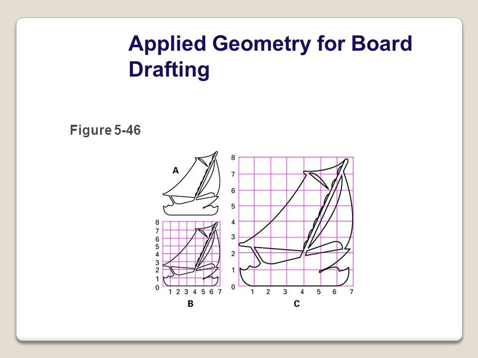 Applied Geometry for Board Drafting Figure 5-46