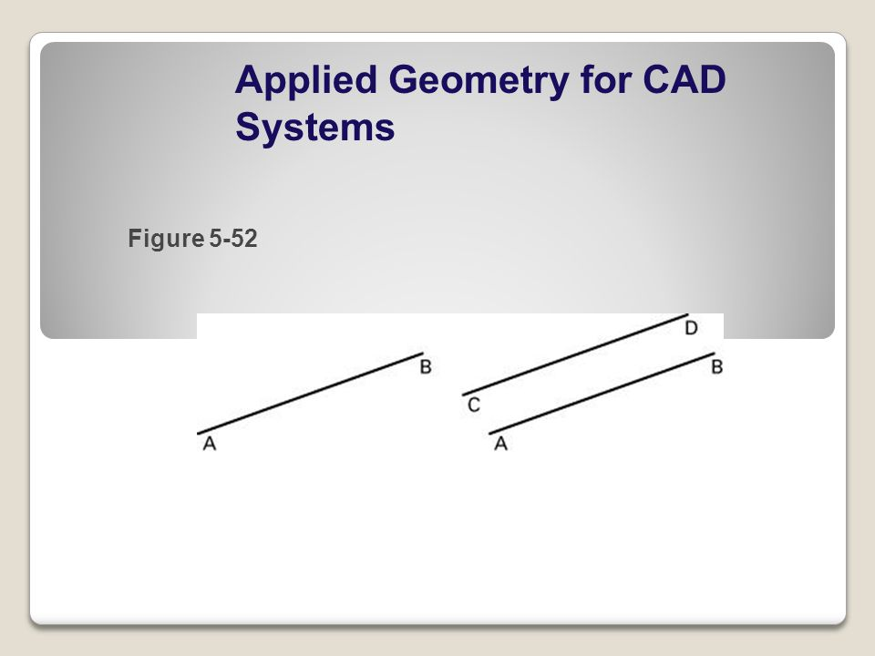 Applied Geometry for CAD Systems Figure 5-52