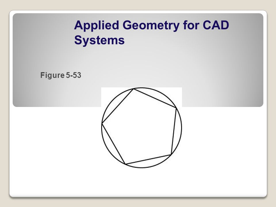 Applied Geometry for CAD Systems Figure 5-53