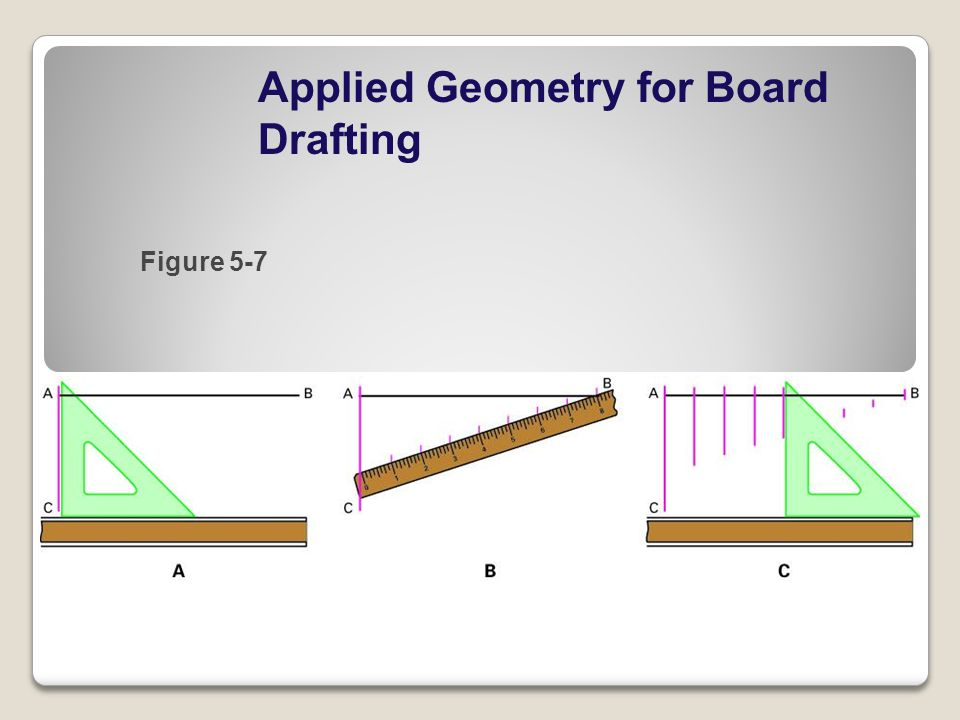 Applied Geometry for Board Drafting Figure 5-7