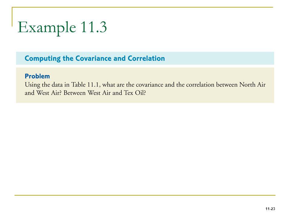 11-23 Example 11.3