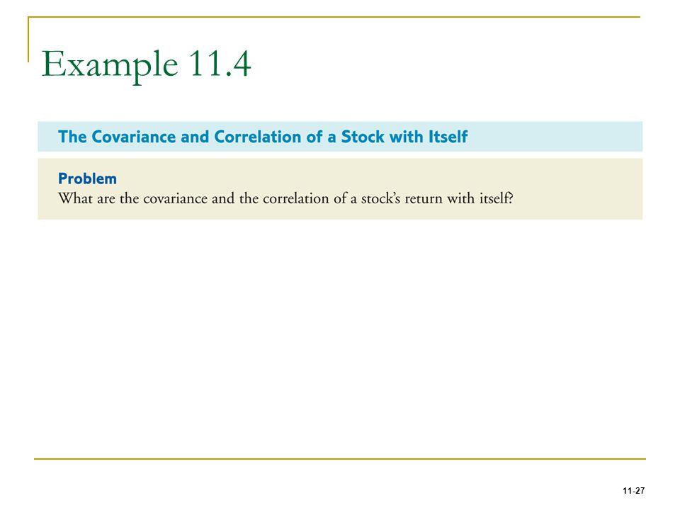 11-27 Example 11.4