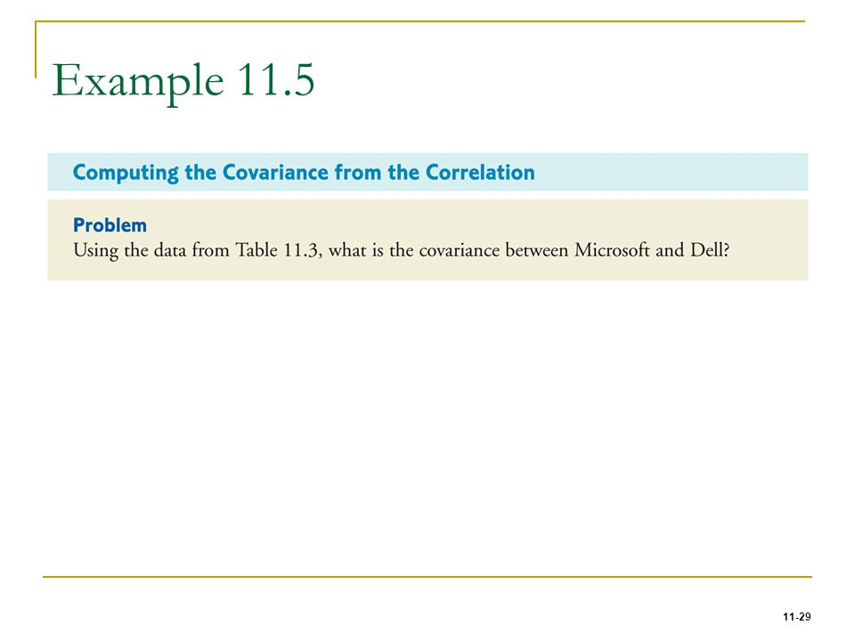 11-29 Example 11.5