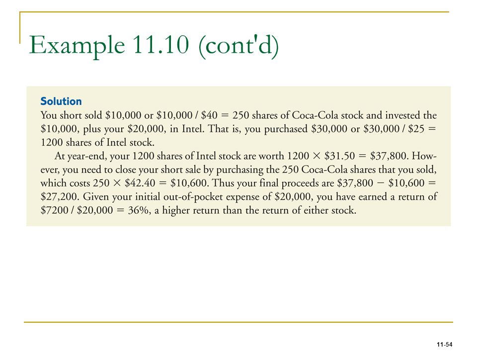 11-54 Example 11.10 (cont'd)