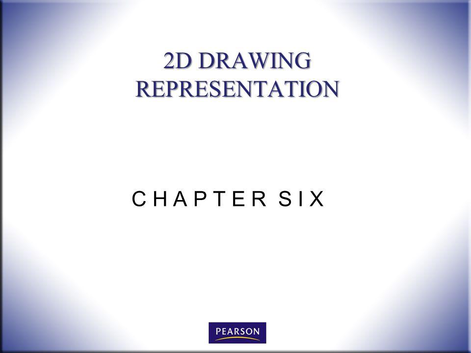 C H A P T E R S I X 2D DRAWING REPRESENTATION