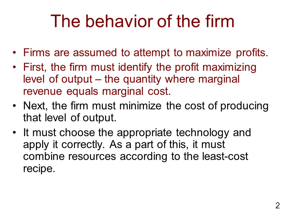 23 Learning Objectives Calculate and graph a firm's isocost line Work out how the isocost line changes when resource prices or total cost change Make a map of production recipes (technology) using isoquants Explain the choices that firms make Prove three theorems relating to the HO model