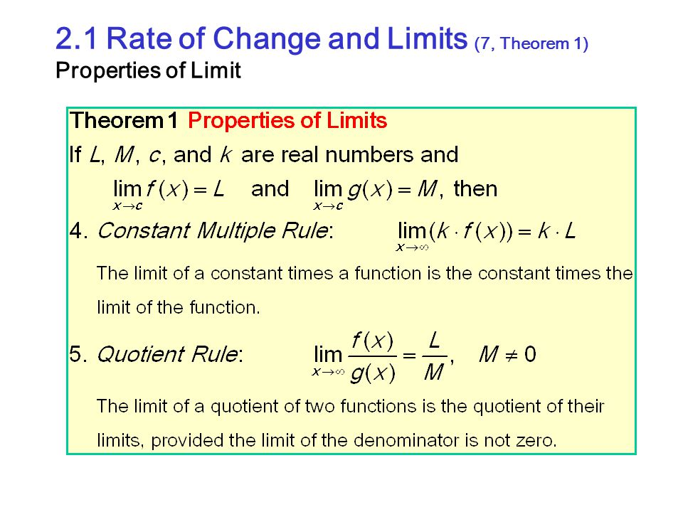 2.4 Rates of Change and Tangent Lines (8) Tangent to Curve The procedure to find the slope of a point P is follows : 1.We start with what we can calculate, namely, the slope of a secant through P and a point Q nearby on the curve.