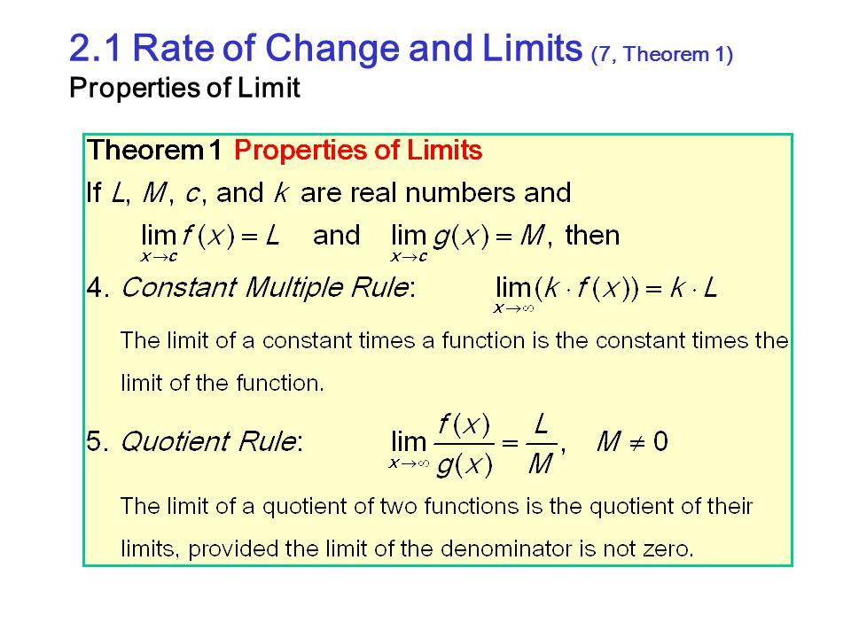 2.2 Limits Involving Infinite (9, Exploration 1-1) Sandwich Theorem Revisited