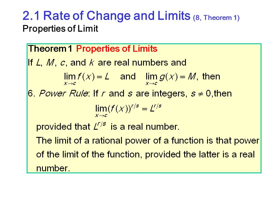 2.4 Rates of Change and Tangent Lines (9) Tangent to Curve (Example 3-1) P(2,4) Q(2+h, (2+h) 2 )