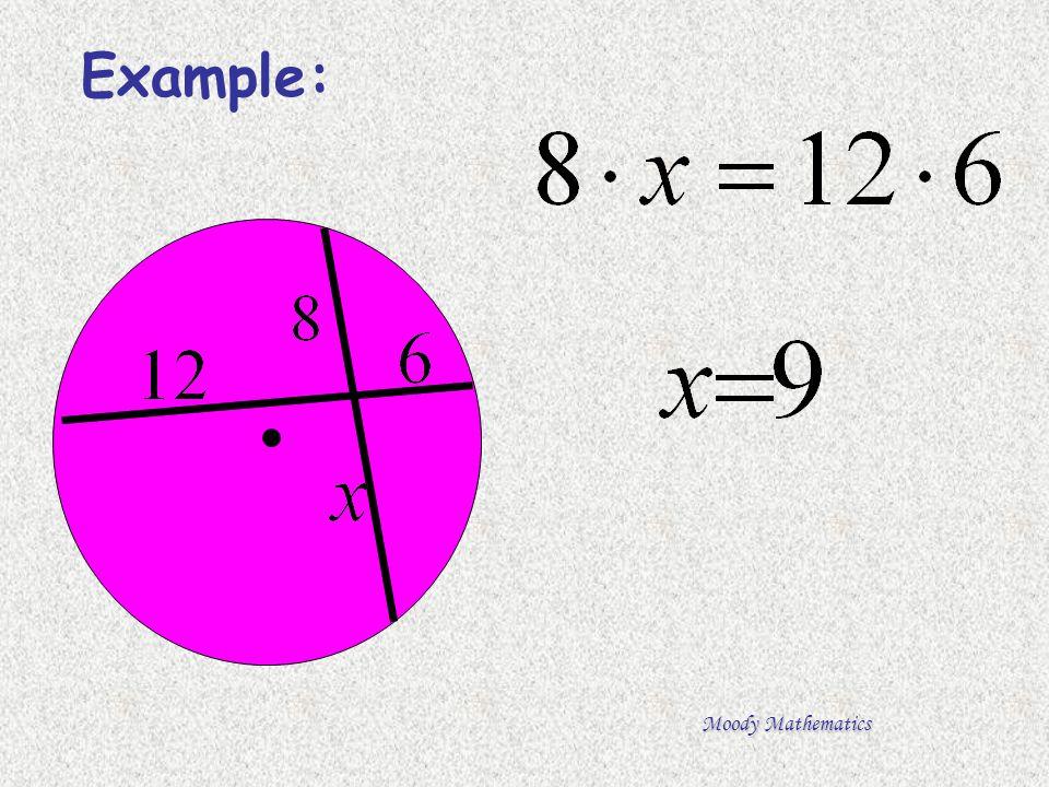 Moody Mathematics Example:
