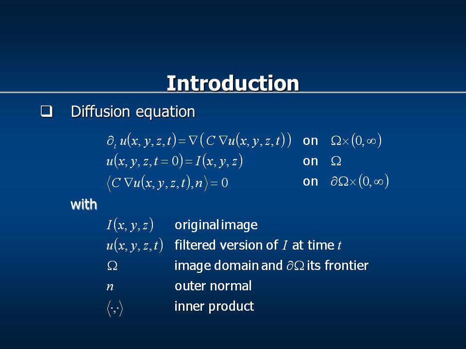  Curvature estimation Error in curvature estimation using gaussian filter Error in curvature estimation using anisotropic filter Results: Anisotropic filter Vs Gaussian filter