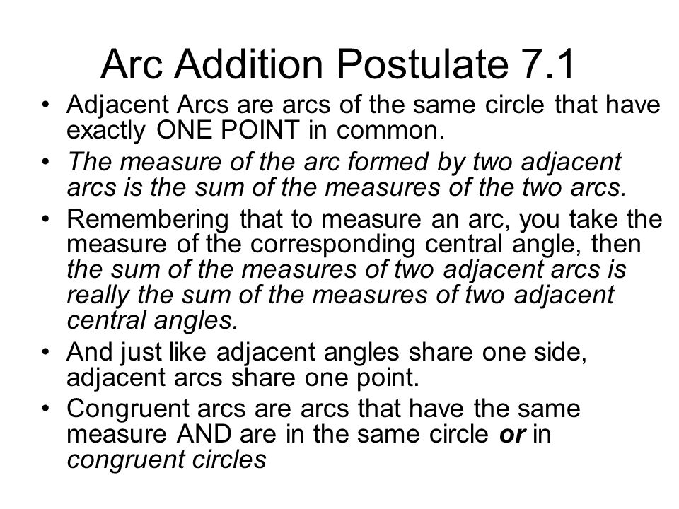 Another Look Using the standard form, determine a circle's center and it's radius.