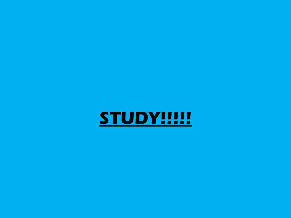 STUDY!!!!!