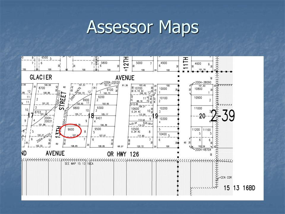 Assessor Maps