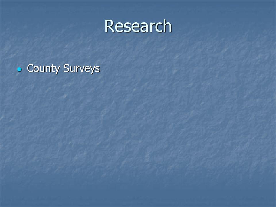 Research County Surveys County Surveys