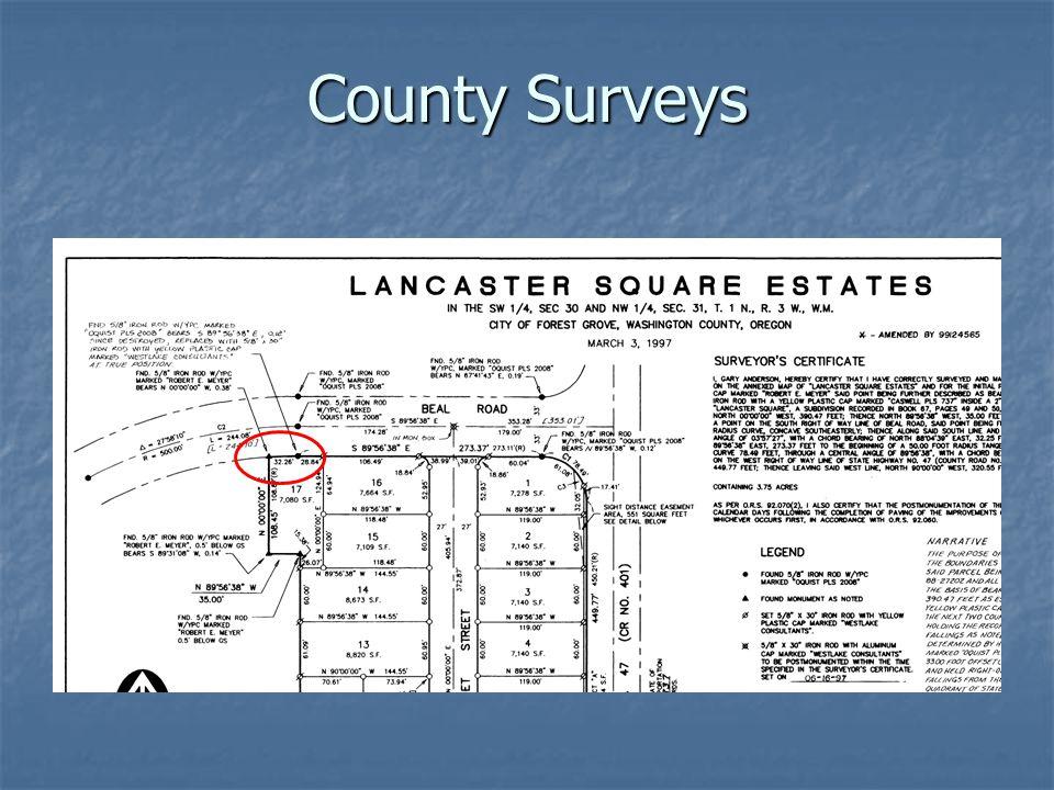 County Surveys