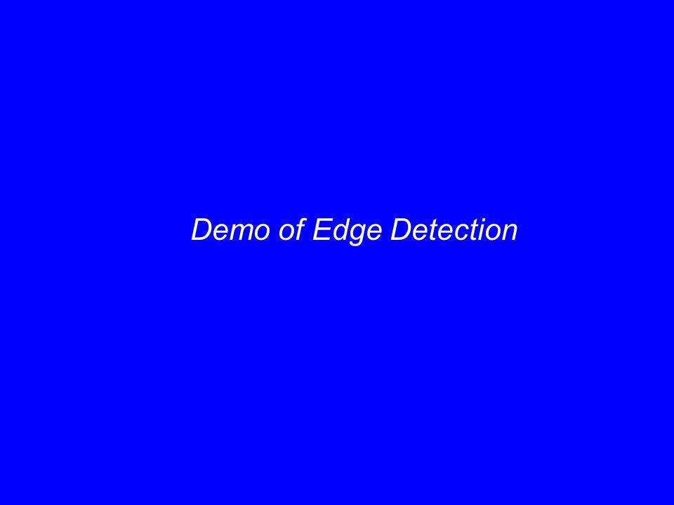 Demo of Edge Detection
