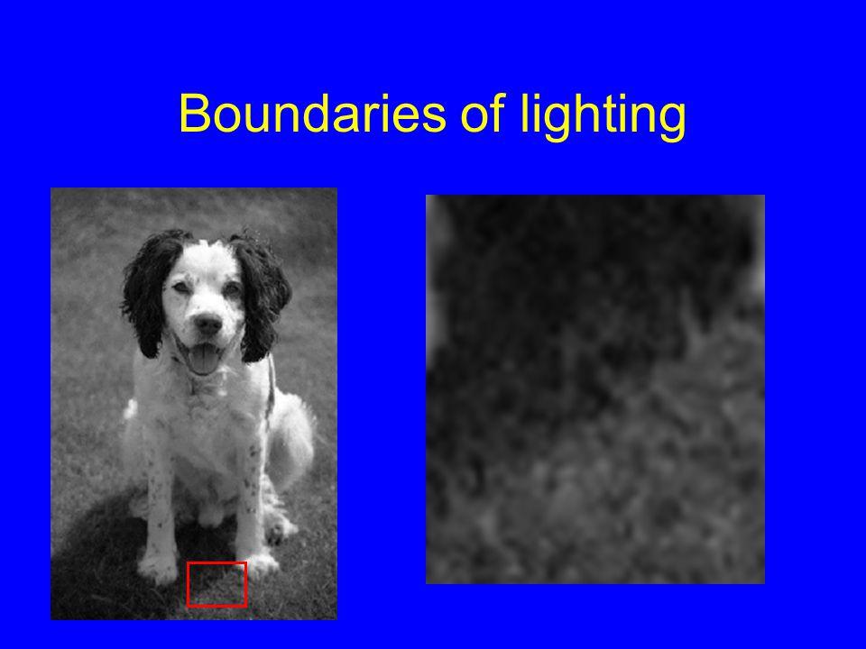 Boundaries of lighting