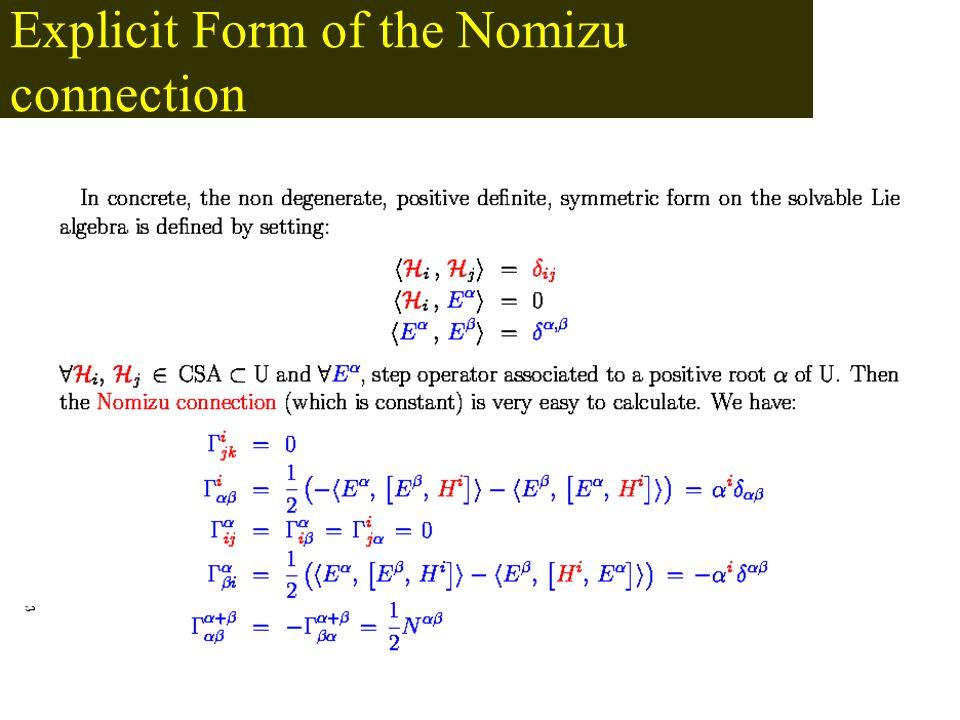 The Nomizu Operator