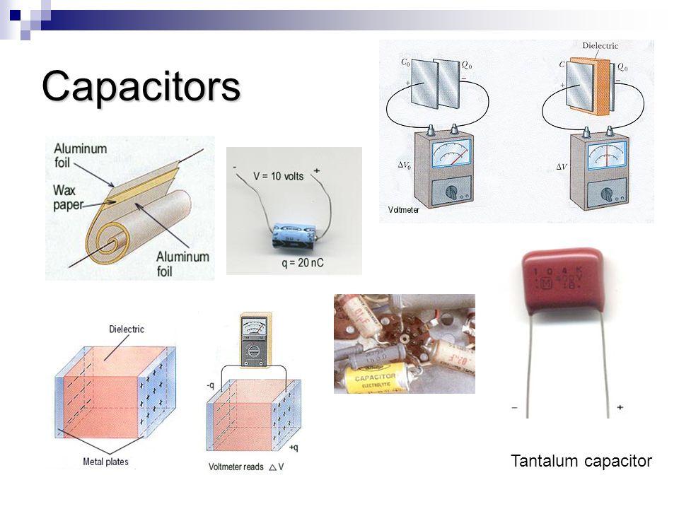 Capacitors Tantalum capacitor