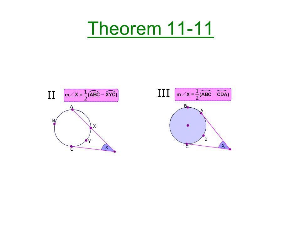 Theorem 11-11
