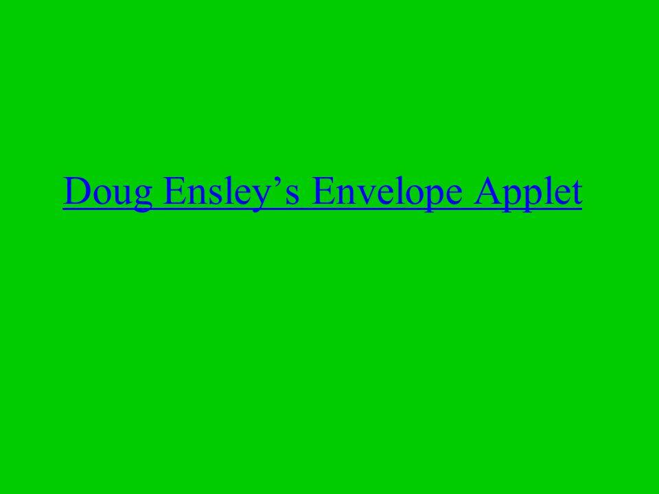 Doug Ensley's Envelope Applet