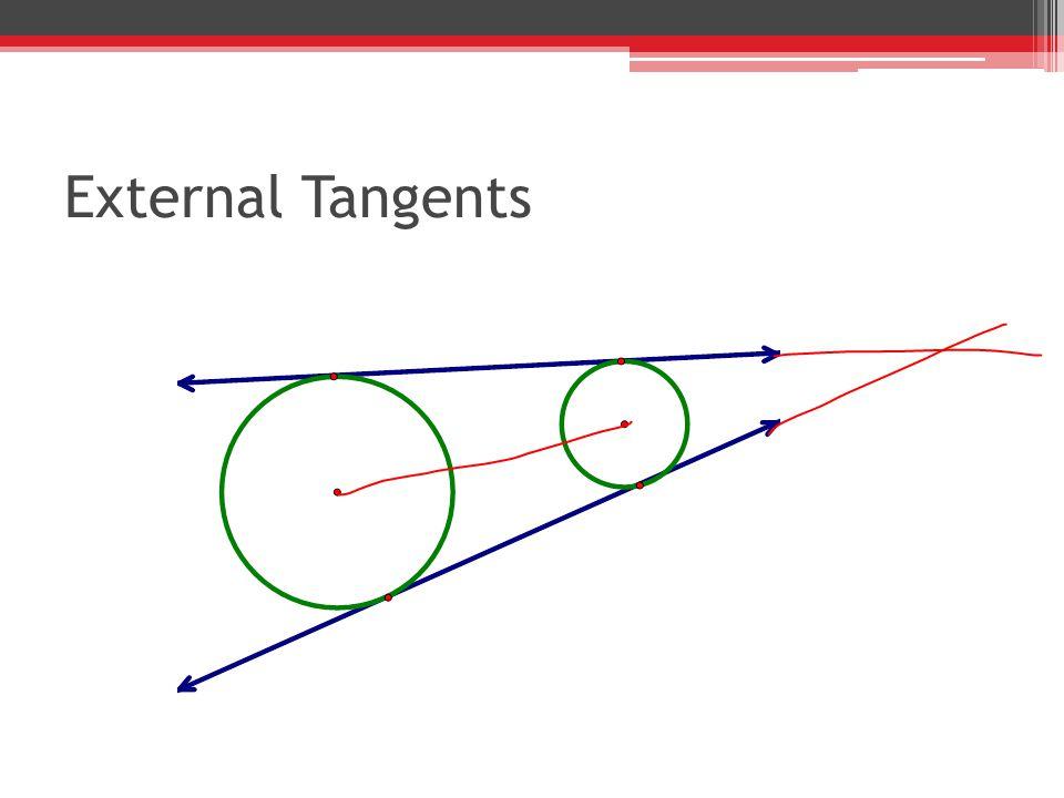 External Tangents
