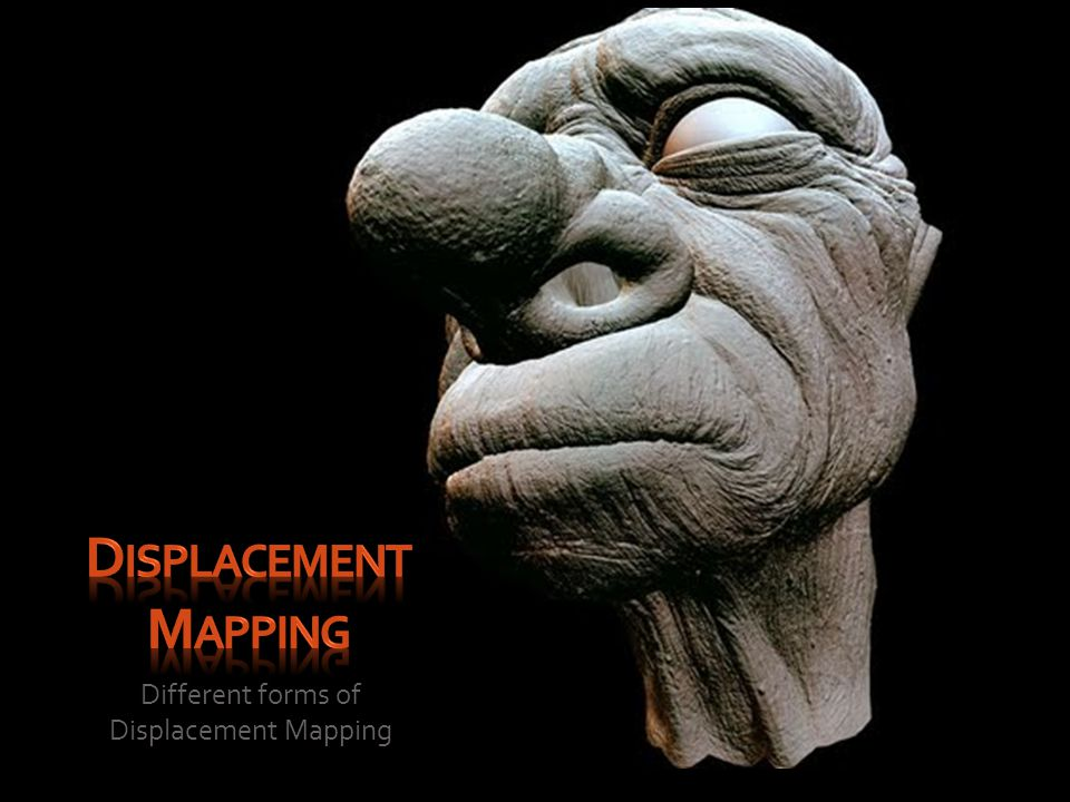 Different forms of Displacement Mapping