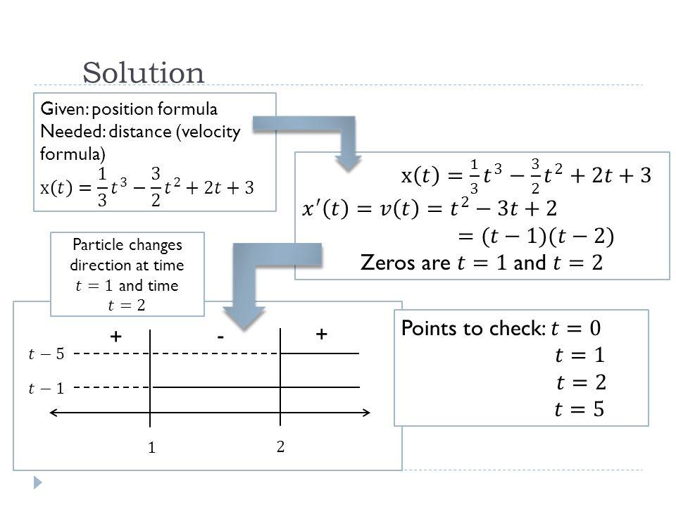 Solution + + -