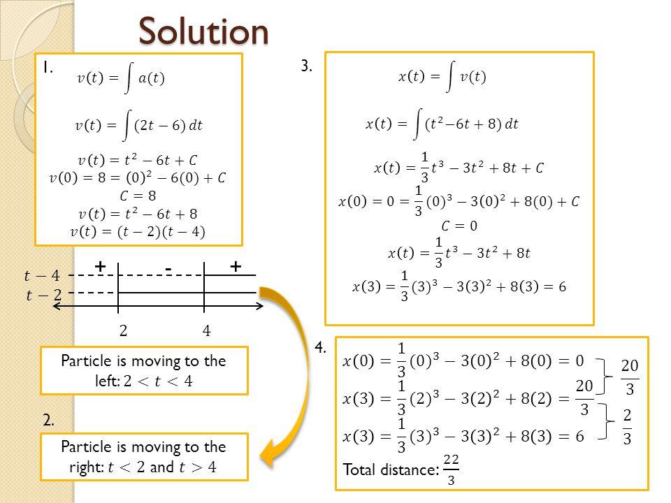 Solution 1. ++- 2. 3. 4.