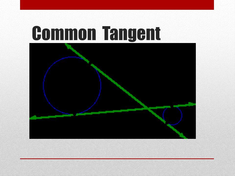 Common Tangent