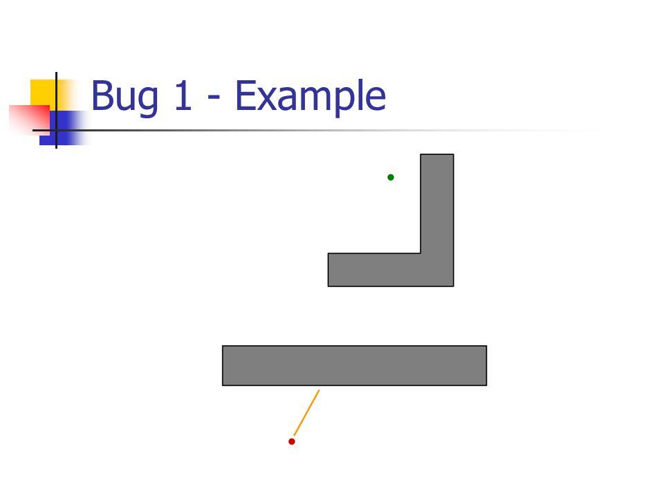 Bug 1 - Example