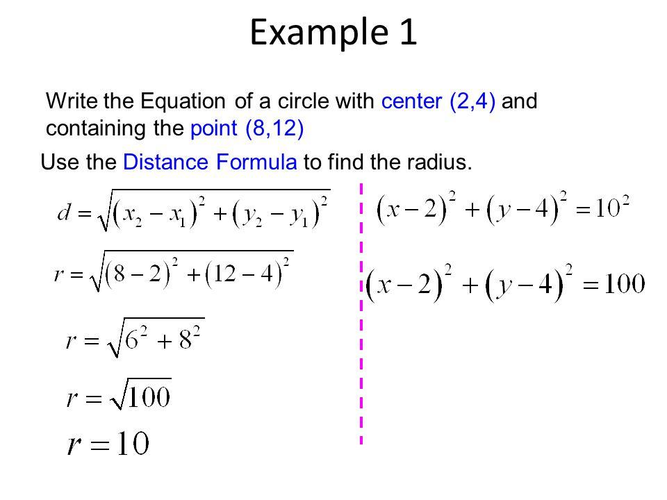 Equation Of A Circle With Radius 4 - Tessshebaylo