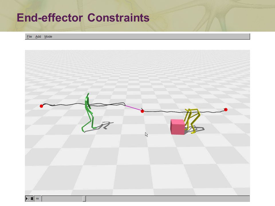 End-effector Constraints
