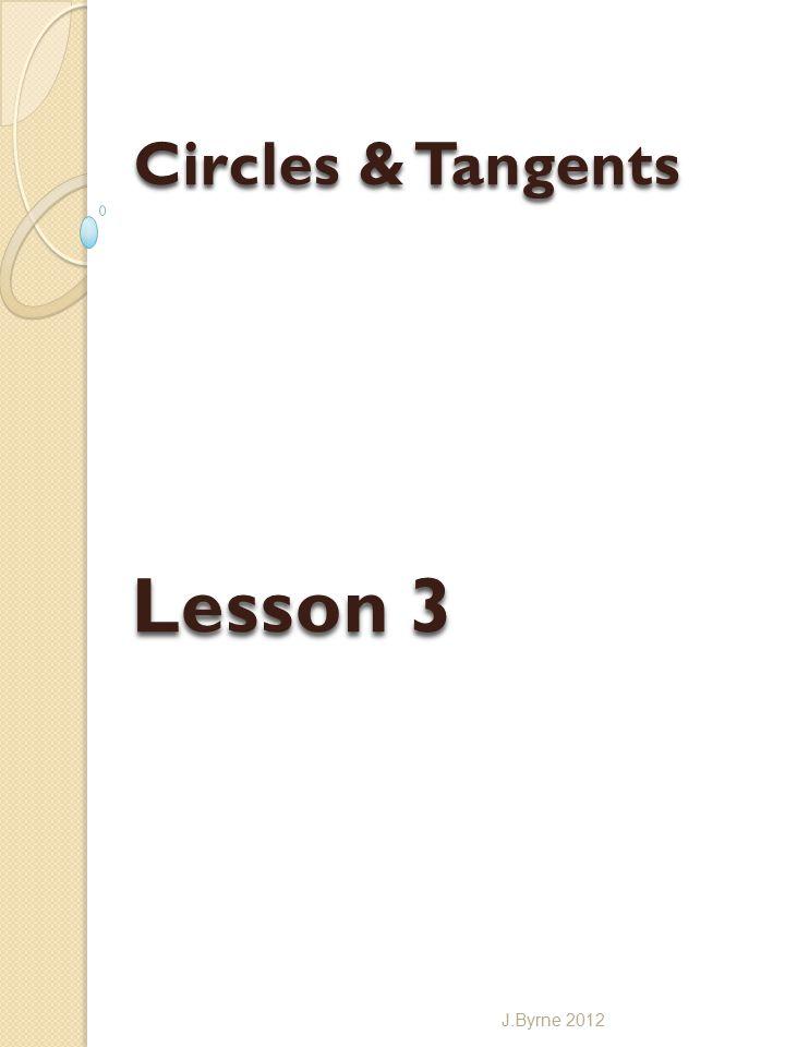 Lesson 3 J.Byrne 2012