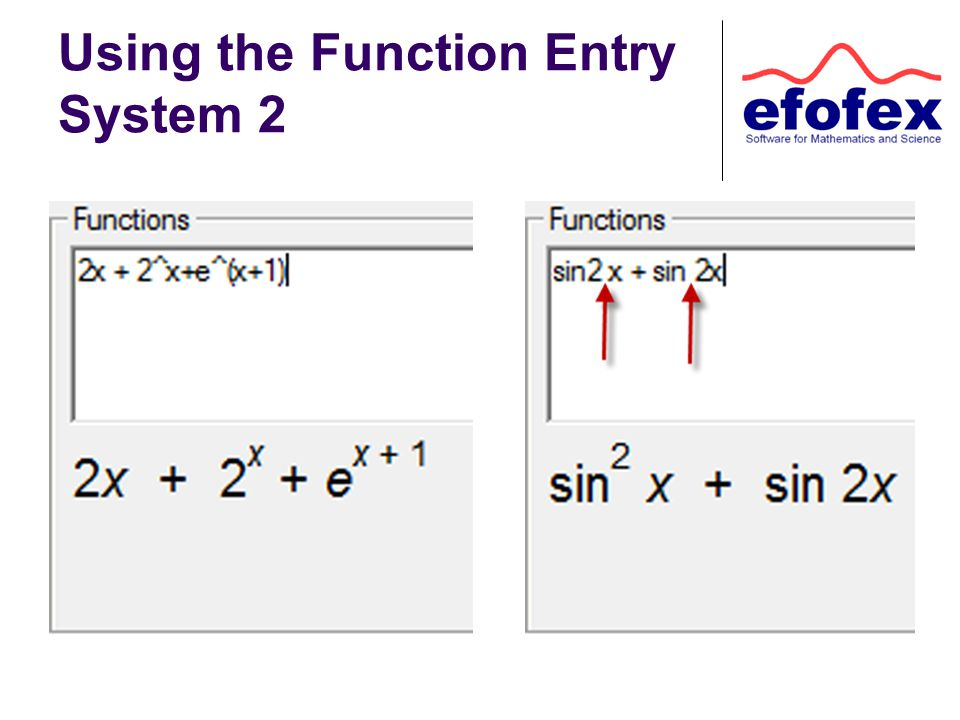 Using the Function Entry System 2