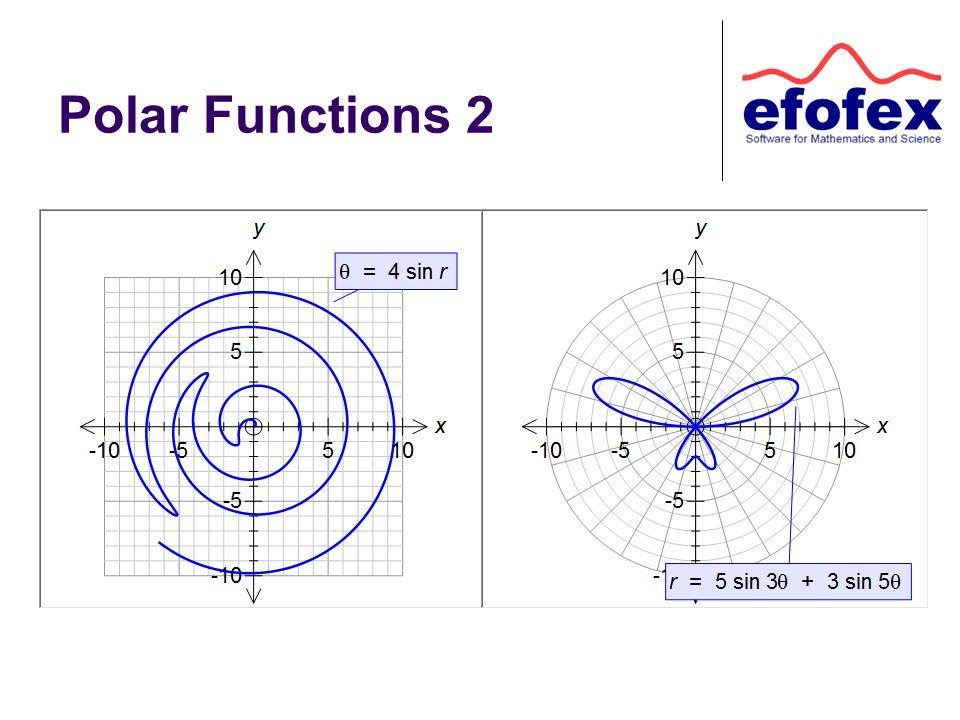 Polar Functions 2
