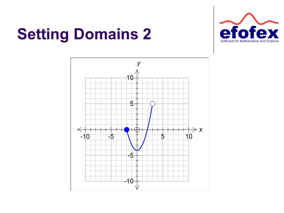 Setting Domains 2