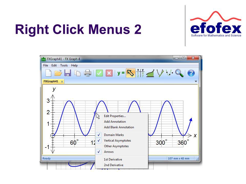 Right Click Menus 2