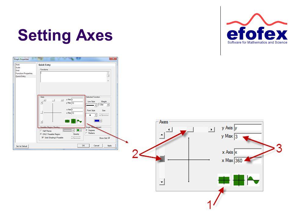Setting Axes